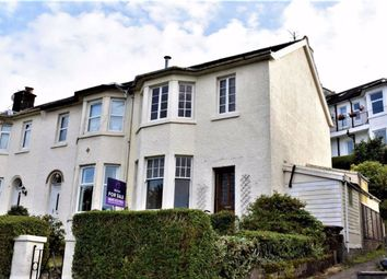 Thumbnail 3 bed end terrace house for sale in 11, Caledonia Crescent, Gourock, Renfrewshire