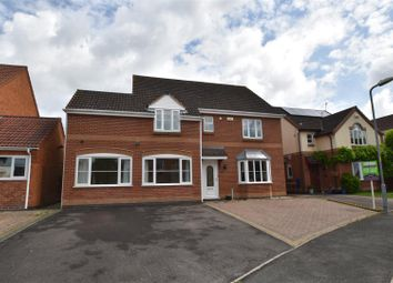 Thumbnail 4 bed detached house for sale in Mandalay Drive, Norton, Worcester