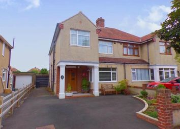 Thumbnail 4 bed semi-detached house for sale in Oakford Avenue, Weston-Super-Mare