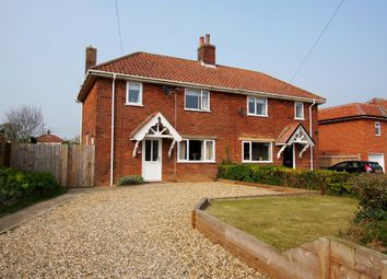 Thumbnail 3 bed semi-detached house for sale in Browick Road, Wymondham
