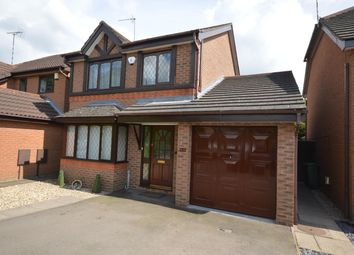 Thumbnail 3 bed detached house for sale in Briers Close, Narborough, Leicester