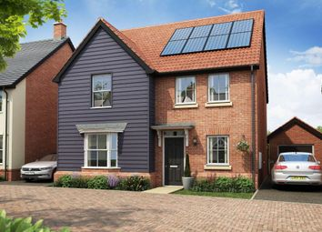 "Thumbnail 4 bedroom detached house for sale in ""Wroxham"" at Stansted Road, Elsenham, Bishop's Stortford"