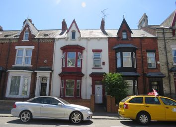 Thumbnail 6 bed terraced house for sale in Grange Road, Hartlepool
