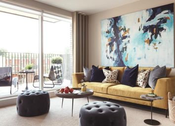 Thumbnail 3 bedroom flat for sale in Abbey Road Cross, London