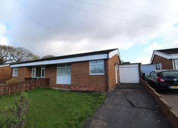 Thumbnail 2 bed bungalow for sale in Ottercap Close, Newcastle Upon Tyne