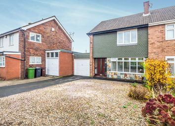 Thumbnail 3 bedroom semi-detached house for sale in Lyndale Drive, Wolverhampton