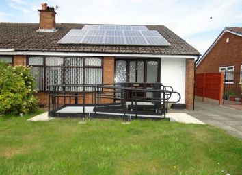 Thumbnail 4 bed semi-detached bungalow for sale in Thames Avenue, Leigh, Lancashire
