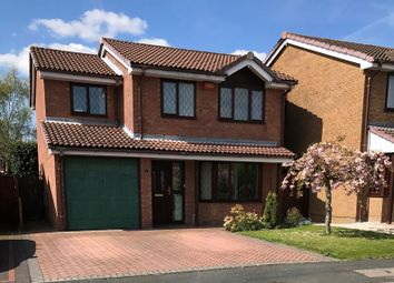 Thumbnail 4 bedroom detached house for sale in Weavers Rise, Ketley Bank, Telford