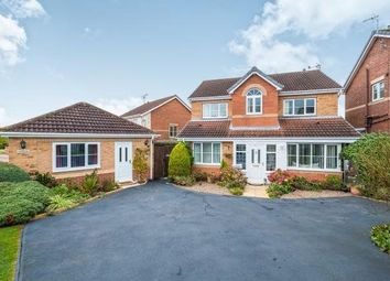 Thumbnail 4 bedroom detached house for sale in Wellesley Close, Worksop
