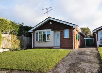 Thumbnail 2 bed detached bungalow for sale in Welland Close, Mickleover, Derby