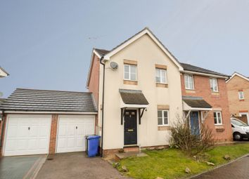 Thumbnail 3 bed semi-detached house for sale in Monarch Close, Haverhill