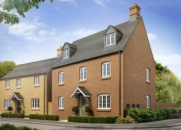 "Thumbnail 4 bed town house for sale in ""The Blakesley Corner"" at Heathencote, Towcester"