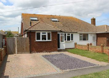 Thumbnail 4 bed semi-detached house for sale in Sutton Avenue North, Peacehaven