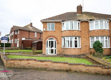 Thumbnail 1 bed semi-detached house for sale in Chislehurst Avenue, Leicester
