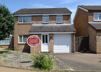 Thumbnail 4 bed detached house for sale in Kettering Road North, Spinney Hill, Northampton