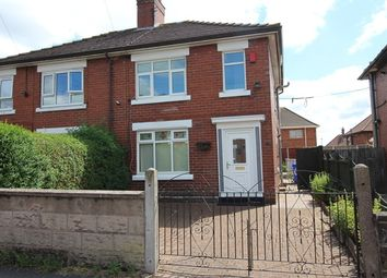 Thumbnail 2 bed semi-detached house to rent in Burnaby Road, Sandyford, Stoke-On-Trent