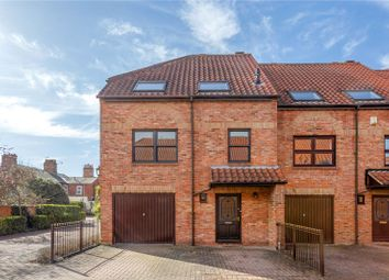 Thumbnail 4 bed terraced house for sale in Wainwell Mews, Lincoln, Lincolnshire