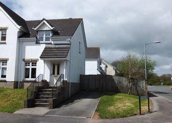 Thumbnail 2 bed end terrace house to rent in Liskerrett Road, Liskeard