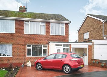Thumbnail 3 bed semi-detached house for sale in Hadleys Close, Dudley