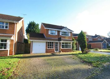 Thumbnail 4 bed detached house for sale in Pool End Close, Knowle, Solihull
