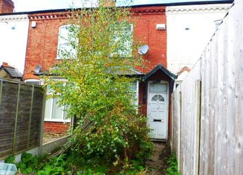 Thumbnail 2 bedroom terraced house for sale in Daisy Road, Edgbaston, Birmingham