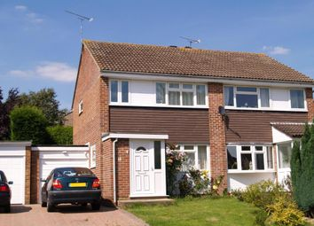 Thumbnail 3 bed semi-detached house for sale in Woburn Road, Crawley