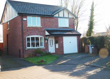 Thumbnail 4 bed detached house for sale in Gowy Court, Calveley, Tarporley