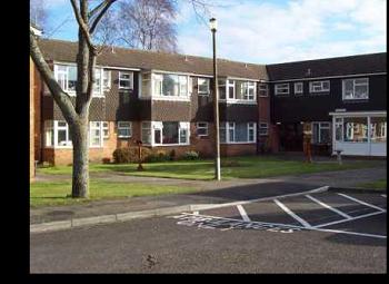 Thumbnail 1 bedroom flat to rent in Kestrel Court, Melksham, Wiltshire
