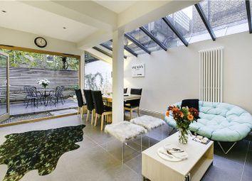 Thumbnail 3 bed flat for sale in Rowallan Road, Fulham, London