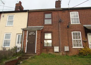 Thumbnail 2 bed terraced house to rent in Creeting Road, Stowmarket
