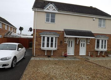 Thumbnail 3 bed semi-detached house to rent in Garth Y Felin, Valley, Holyhead