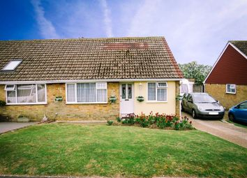 Thumbnail 2 bedroom semi-detached bungalow for sale in Quarry Lane, Seaford