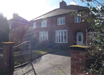 Thumbnail 3 bed semi-detached house to rent in Doncaster Road, Carlton In Lindrick, Worksop, Notts