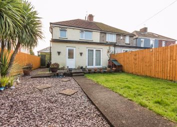 Thumbnail 3 bed semi-detached house for sale in Liswerry Road, Newport