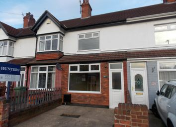 Thumbnail 2 bedroom terraced house to rent in Fairview Avenue, Cleethorpes