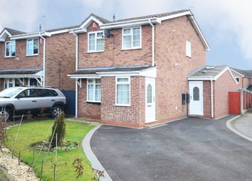 Thumbnail 3 bed detached house for sale in Cardigan Grove, Trentham, Stoke-On-Trent