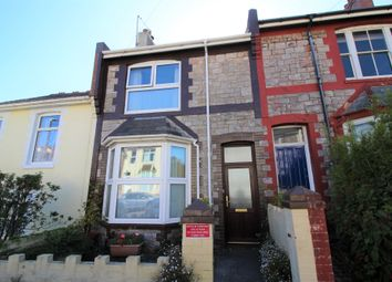 Thumbnail 2 bed terraced house for sale in Carlton Road, Torquay
