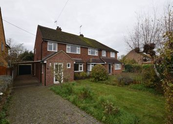 Thumbnail 3 bed semi-detached house for sale in Churchway, Haddenham, Aylesbury
