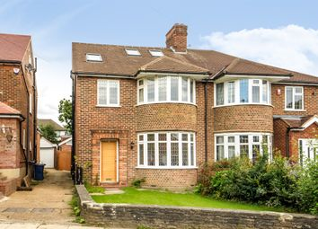Thumbnail 5 bed semi-detached house for sale in Linkside, Woodside Park, London