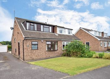 Thumbnail 4 bed semi-detached house for sale in Fishponds Drive, Crigglestone, Wakefield