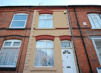 Thumbnail 2 bedroom terraced house for sale in Irlam Street, Wigston, Leicestershire