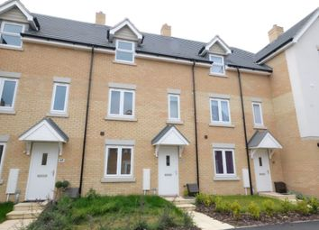 Thumbnail 3 bed town house to rent in Falcon Crescent, Costessey, Norwich