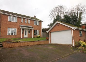 Thumbnail 4 bed detached house for sale in Astbury Close, Daventry