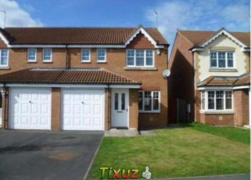 Thumbnail 3 bed semi-detached house to rent in Rutherford Court, Willington, Crook