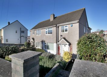 Thumbnail 4 bed semi-detached house for sale in Mount Batten Way, Plymstock, Plymouth