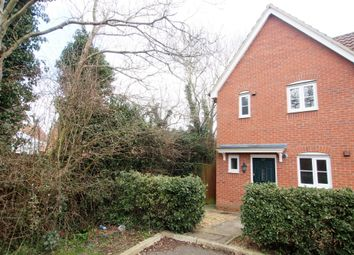 Thumbnail 2 bed semi-detached house for sale in Meadowsweet Road, Wymondham
