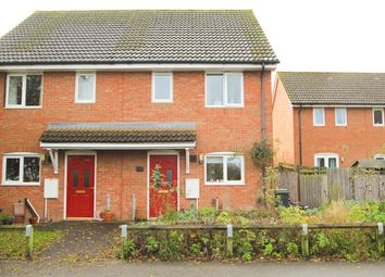 Thumbnail 2 bed semi-detached house for sale in The Street, Great Bricett, Ipswich