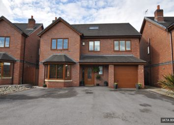 Thumbnail 5 bedroom detached house for sale in Bell Lane, Orrell, Wigan