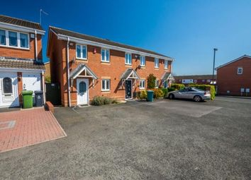 Thumbnail 2 bed end terrace house for sale in Sherlock Close, Short Heath, Willenhall, West Midlands