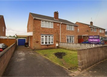 Thumbnail 3 bed semi-detached house for sale in Dominion Road, Swadlincote